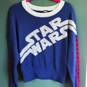 NWT Star Wars Sweater Womens Size Large